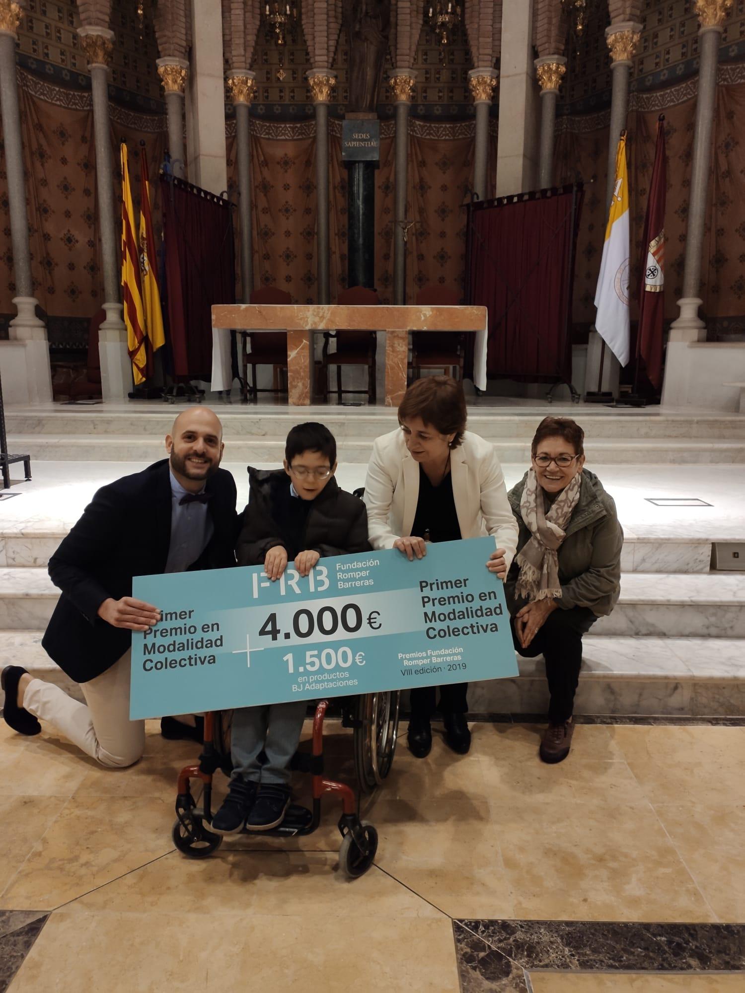 Entrega del primer premio Fundacion Romper Barreras