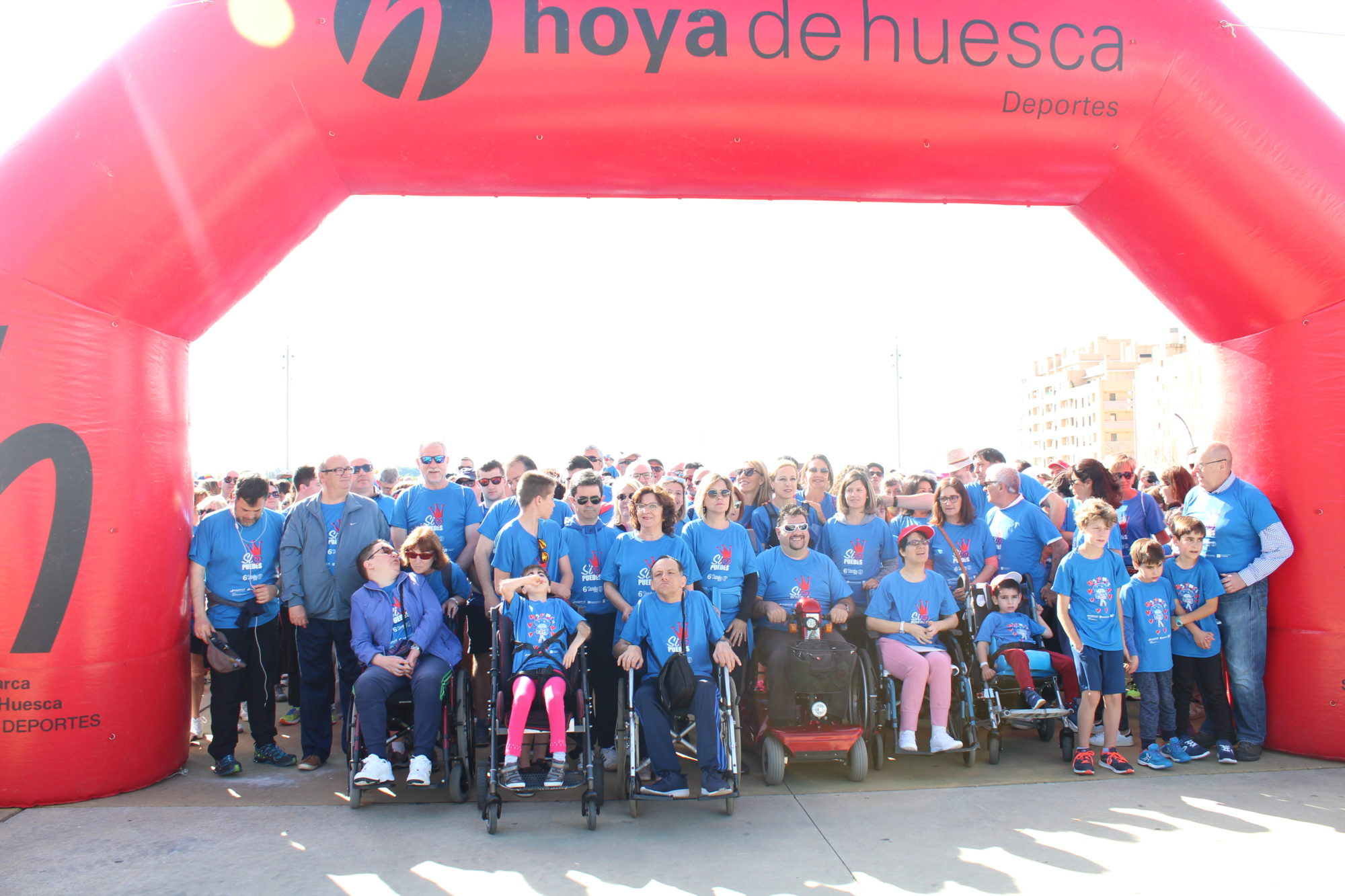 ASPACE Huesca VI Marcha